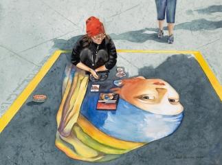 Sidewalk Vermeer