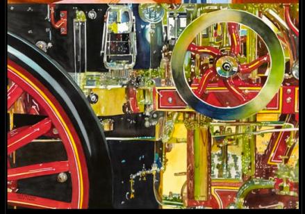 The Old Steam Pumper