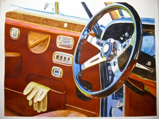 Still Life with Driving Gloves